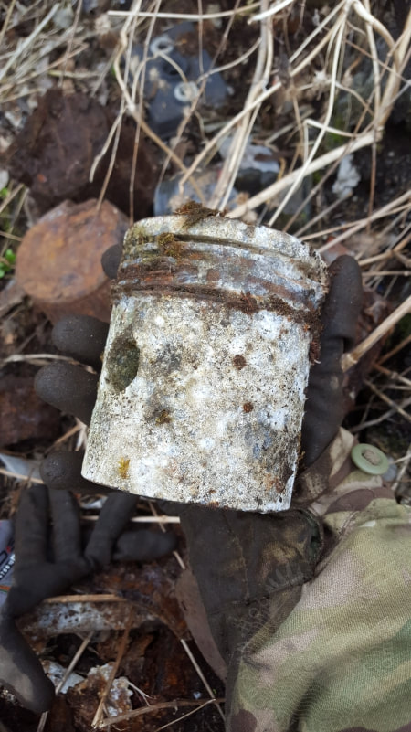 hobbyhistorica metal detecting ww2 world war two dark tourism relic hunting