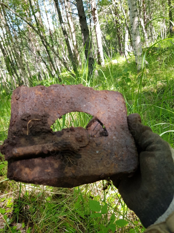 hobbyhistorica polarbahn ww2 relic hunting metal detecting
