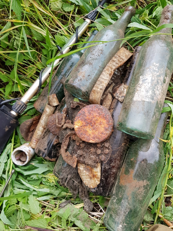 hobbyhistorica ww2 relic hunting battlefield recovery metal detecting histroy hunting rust hunting