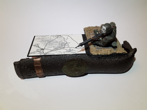 hobbyhistorica yngve sjodin inka ww1 german machinegunner jeff shiu 1/16 miniature modelling machinegun hill latvia