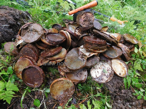 hobbyhistorica metal detecting finds military archaeology ww2 world war two treasure hunting wehrmacht relics