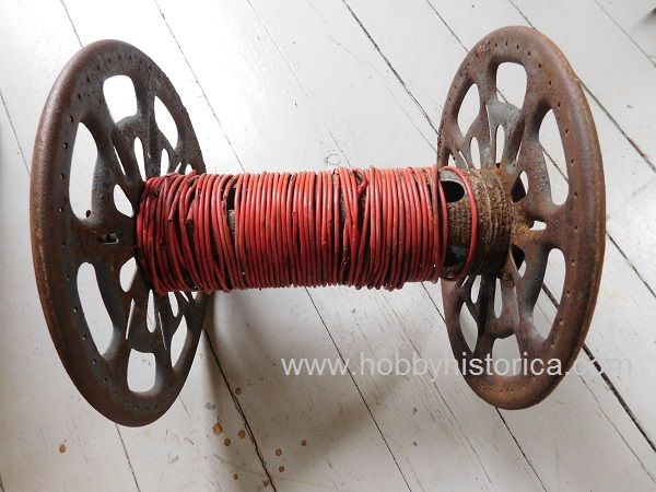 German cable reel ww2