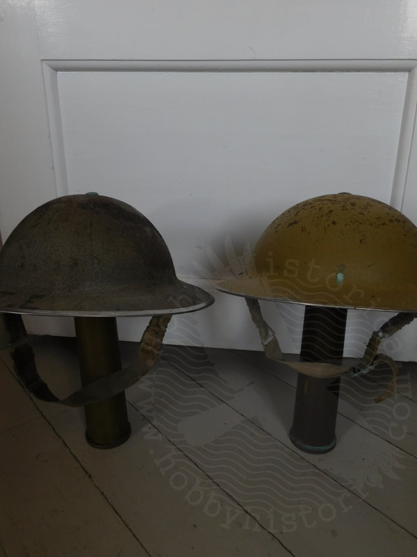 ww2 british combat helmet scots guards irish guards 1940 battle of norway hobbyhistorica metal detecting battlefield relics