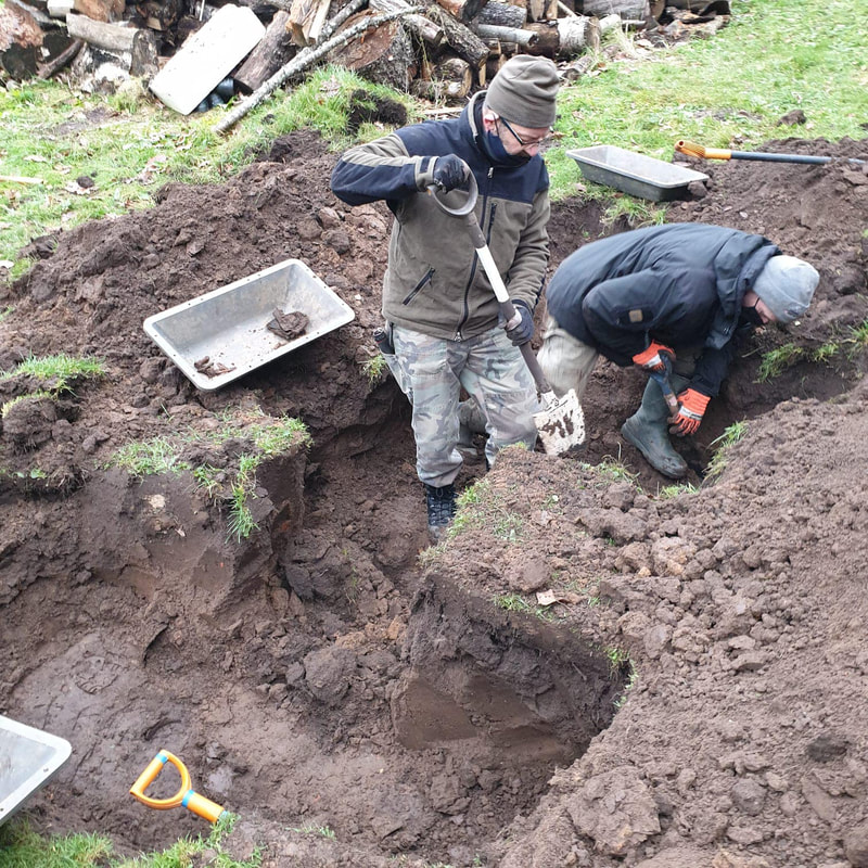 legenda military archaeology soldier recovery exhumation missing in action work for peace  hobbyhistorica yngve sjødin inka holmes yngve sjoedin ww2 soldier recovery repatriation kurland kessel battlefield-archaeology legenda-archaeology latvia legenda-military-archaeology